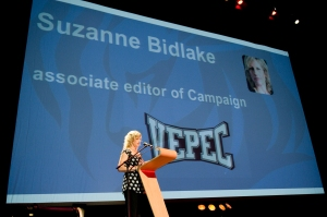 Suzanne Bidlake speaks at Vepec Conference 1