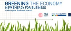 European Business Summit EBS Greening the Economy 2