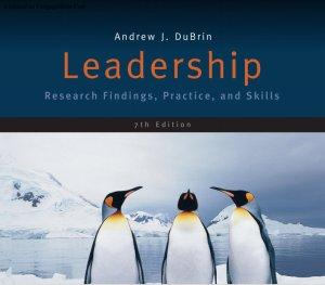 Leadership Andrew J DuBrin