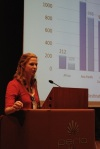 Lucy Symons AIESEC speaking at EREF