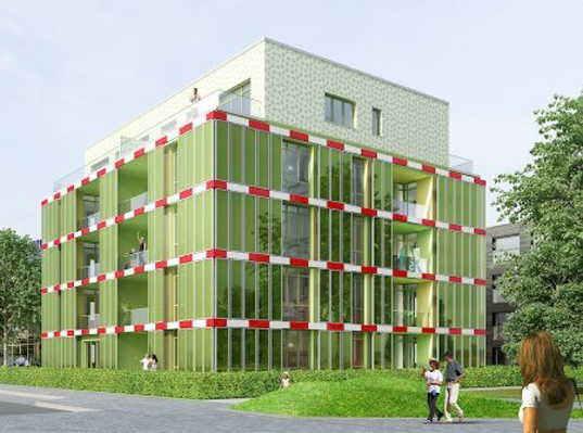 FLI algae-building