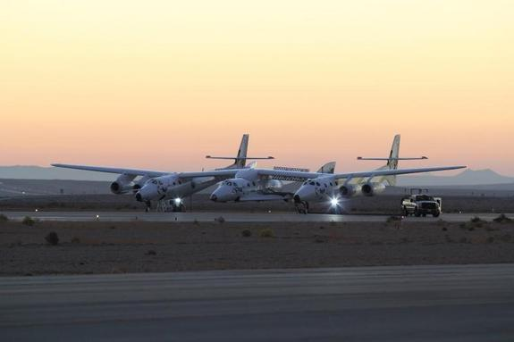 FLI virgin-galactic-spaceshiptwo-fourth-powered-test-takeoff