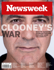 Newsweek Clooney cover