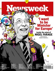 Newsweek Farage Cover