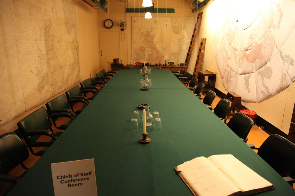 14 travel destinations for evidence science based leaders the future leadership institute - Churchill war cabinet rooms ...
