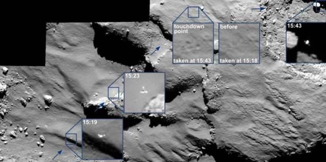 FLI Philae on comet