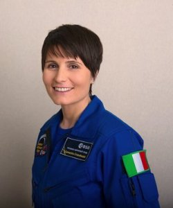 First female Italian astronout Samantha Cristoforetti