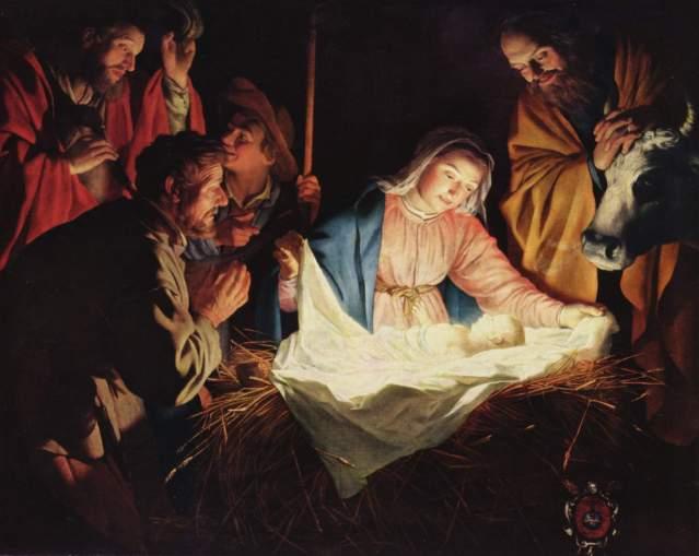 FLI Christmas Gerard van Honthorst