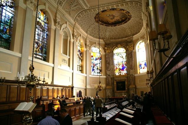 Queens College Oxford, Chapel, UK