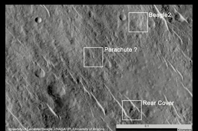 FLI Beagle 2 Found on Mars