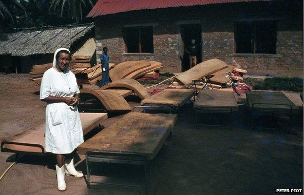 FLI Ebola Belgian nun Piot 1976