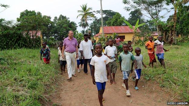 FLI Ebola Peter Piot Sukato Yambuku 2014