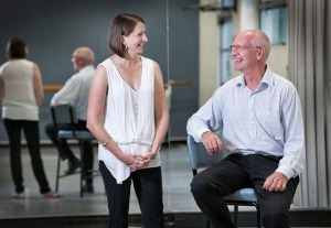 Professors Gene Moyle and Graham Kerr are collaborating with Queensland Ballet, Parkinson's Queensland and UQ on a program to use dance to improve the quality of life of Parkinson's sufferers. Image Credit: Erika Fish/QUT Media