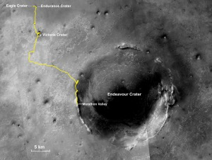This map shows the rover's entire traverse from landing to that point. Image Credit: NASA/JPL-Caltech/MSSS/NMMNHS