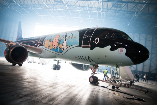 Brussels Airlines Rackham Credit: Brussels Airlines