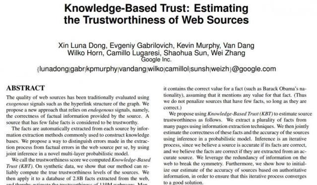 FLI Google trust research