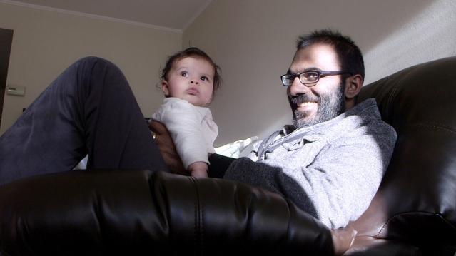 Paul Kalanithi and his daughter, Cady Credit Mark Hanlon/Stanford University School of Medicine