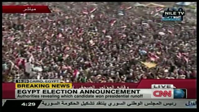 7R  Morsi elected President