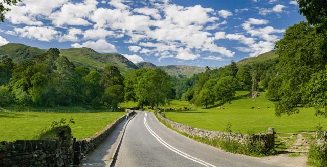 FLI Driving Roads A591 road Lake District