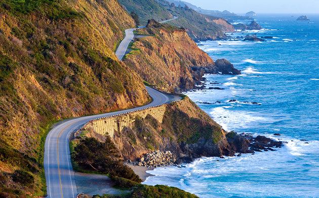 FLI Driving Roads california-big-sur-road