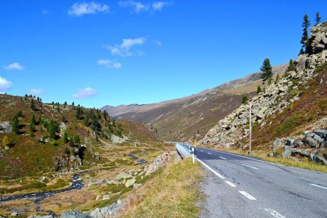 FLI Driving Roads Flüelapass, Grisons, Davos to Susch, Landscape