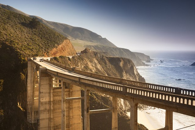 USA: Highway 1 from Castroville to Big Sur, California