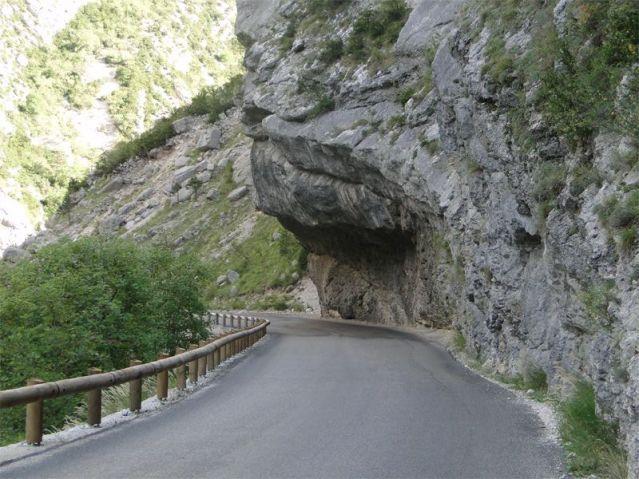 Route Napoleon Alpes-Maritimes