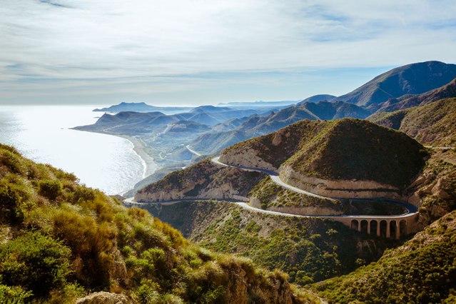FLI Driving Roads San José (Almería) to Cabo de Gata via the ALP-822