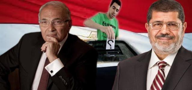 Morsi, Shafiq Face-Off Live on Egyptian Television, Tuesday June 12