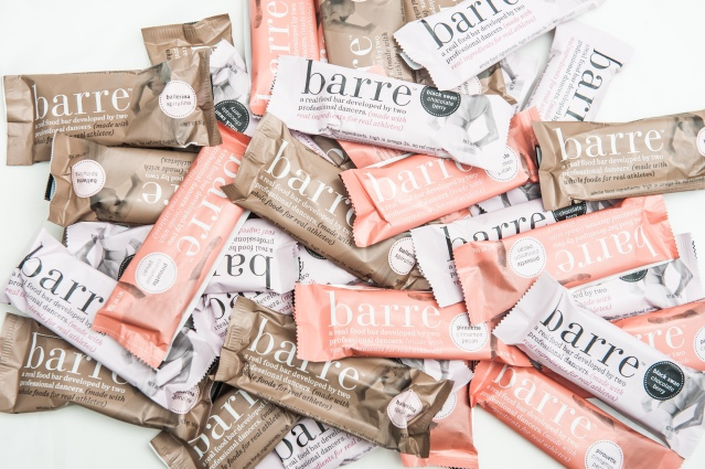 barre - nutrition bars are amongst the items under reasonable snacking Photo credit: Nicholas Coppula