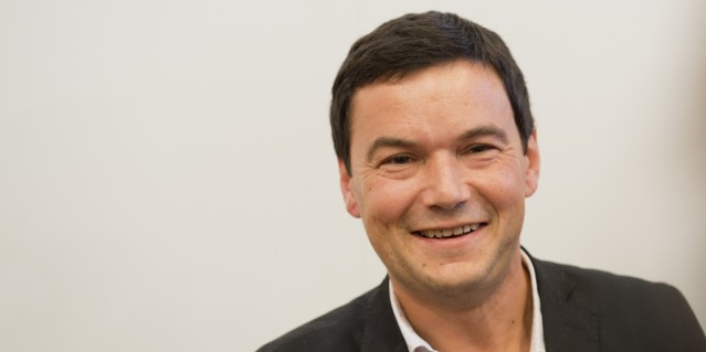 Frankfurt, Germany - October 09: Economist Thomas Piketty attends Frankfurt Book Fair 2014 on October 09, 2014 in Frankfurt, Germany. (Photo by Michael Gottschalk/Photothek via Getty Images)