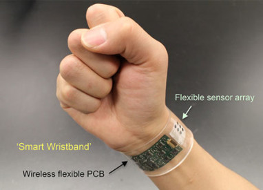 FLI sweat-sensor-wristband