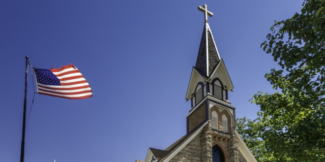 Trinity Episcopal Church in Pocatello, Idaho, USA
