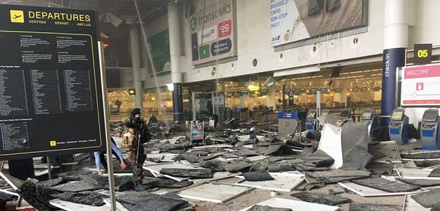 FLI Brussels attacks Zaventem